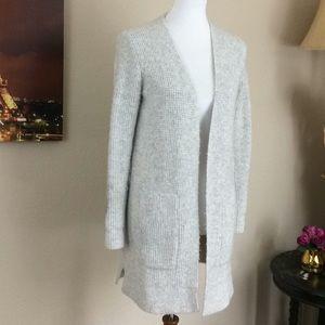 Madewell Open Cardigan Alpaca blend Super Soft